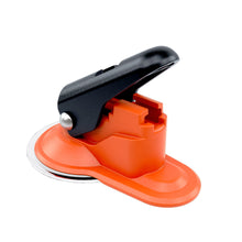 Orange Skipper suction pad holder/receiver