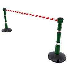 Skipper 30' free standing retractable barrier kit