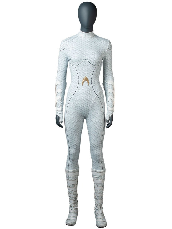 Dc ( Aquaman ) Atlanna )Mp004227 Xs / #34(22Cm) Cosplay Costume