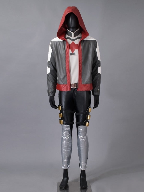Dc ( Batman:  Arkham Knight ) Robin / Red Hood Jason Todd )Mp003300 Xxs Cosplay Costume