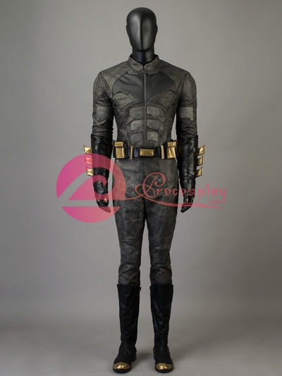 Dc ( Justice League ) Batman / Bruce Wayne )Mp003715 Cosplay Costume