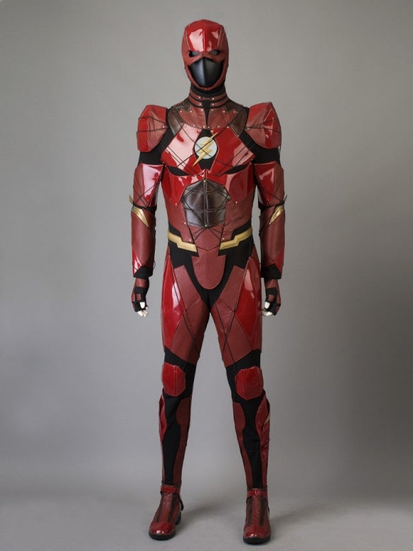 Dc ( Justice League ) The Flash / Henry Allen )Mp003656 Xs #34(22Cm) Cosplay Costume