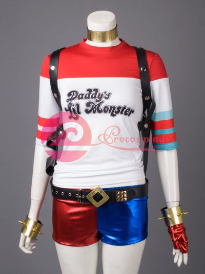 Dc ( Suicide Squad ) Harley Quinn / Harleen Quinzel )Mp003402 Cosplay Costume