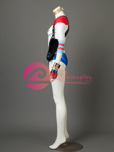 Dc ( Suicide Squad ) Harley Quinn / Harleen Quinzel )Mp003452 Cosplay Costume