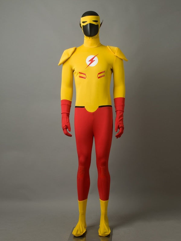 Dc ( Young Justice ) Kid Flash / Wally West )Mp003837 Xxs Cosplay Costume