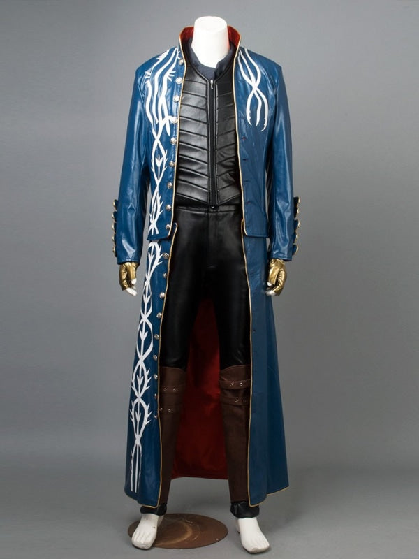 Devil May Cry 3 ( Vergil )Mp002710 Xs Cosplay Costume
