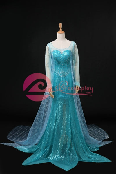 ( Disney ) Frozen Elsa )Mp004791 Cosplay Costume