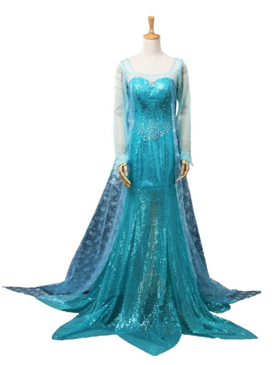 ( Disney ) Frozen Elsa )Mp004791 S Cosplay Costume