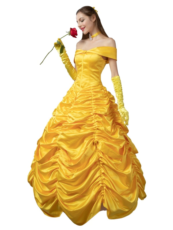 ( Disney ) Beauty And The Beast Belle )Mp002019 S Cosplay Costume