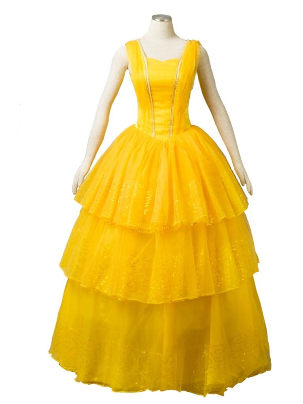 ( Disney ) Beauty And The Beast Belle Vermp003847 Xxs Cosplay Costume