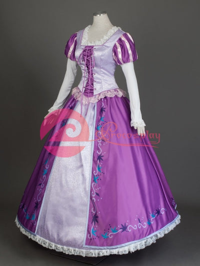 ( Disney ) Tangled Rapunzel )Mp004097 Cosplay Costume