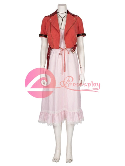 Vii Aerith Gainsborough Mp005022 Xs Cosplay Costume