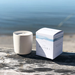 The Waters  |  Natural Candle - Tofino Soap Company ®