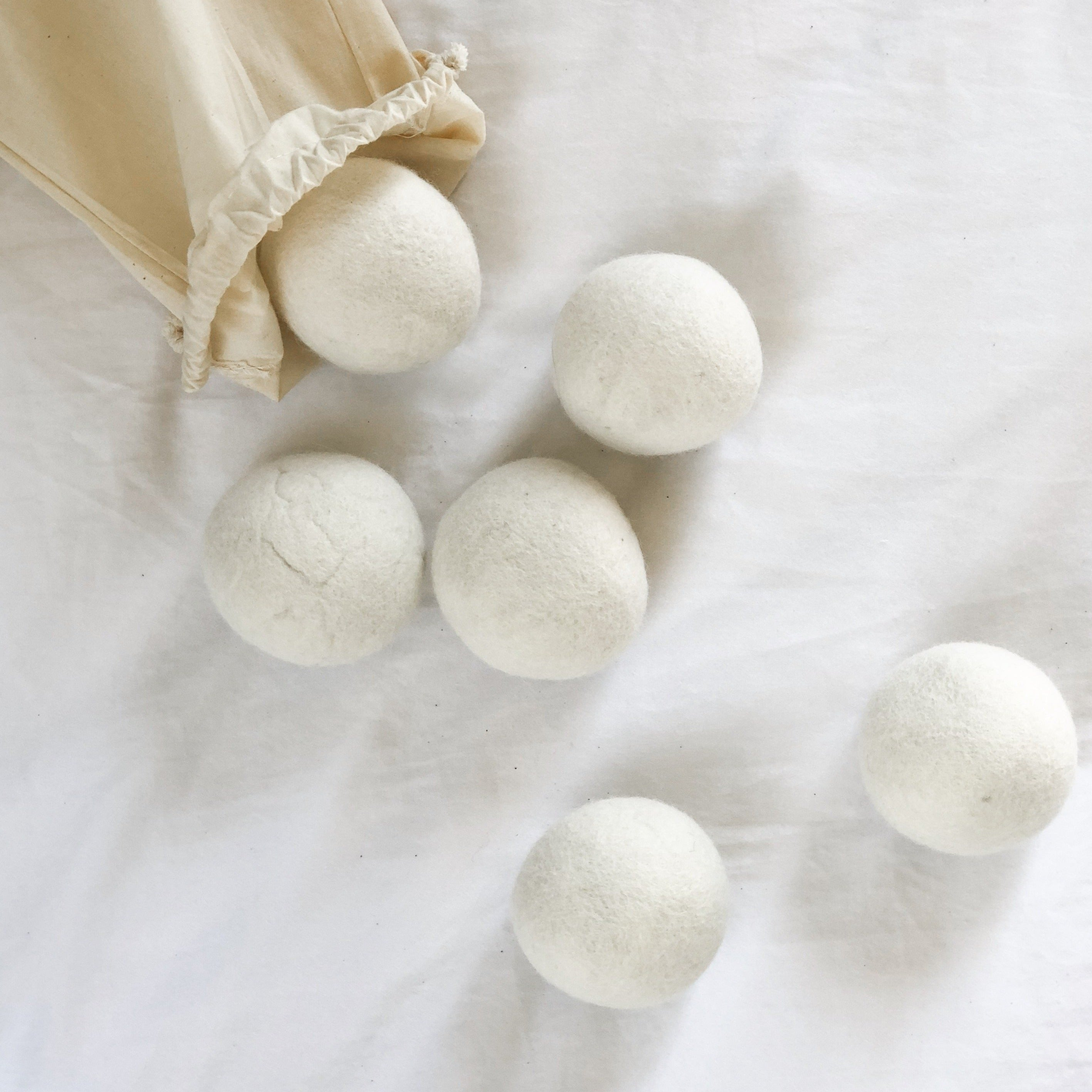 Organic Wool Rounds - Tofino Soap Company ®