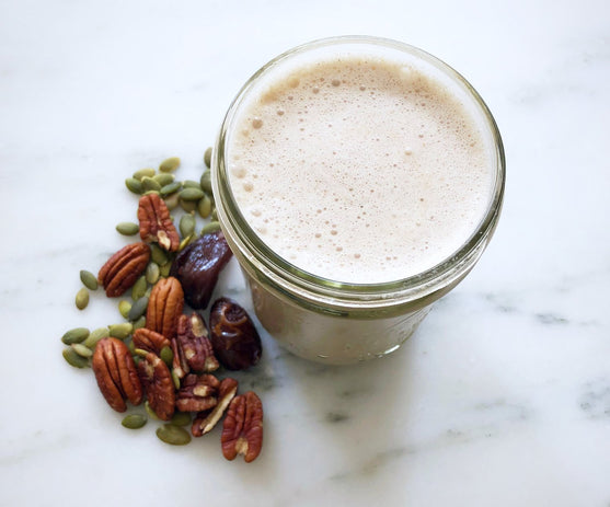 Spiced Pumpkin Pecan Milk