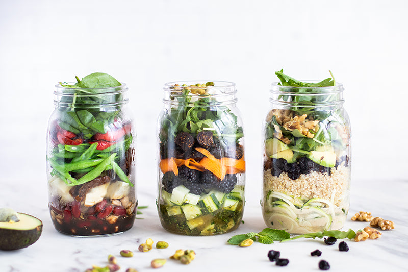 Fruit Bliss Mason Jar Salads