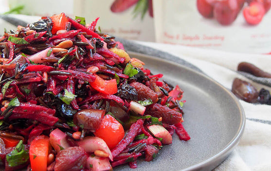 Wild Rice Salad Recipe | Fruit Bliss