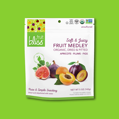 Fruit Bliss Organic Fruit Snacks | Fruit Medley