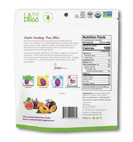 Fruit Bliss Fruit Medley Organic Snacks