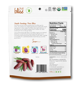 Fruit Bliss Organic Snacks Dates