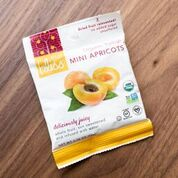 Organic Turkish Mini Apricots | Fruit Bliss Organic Snacks