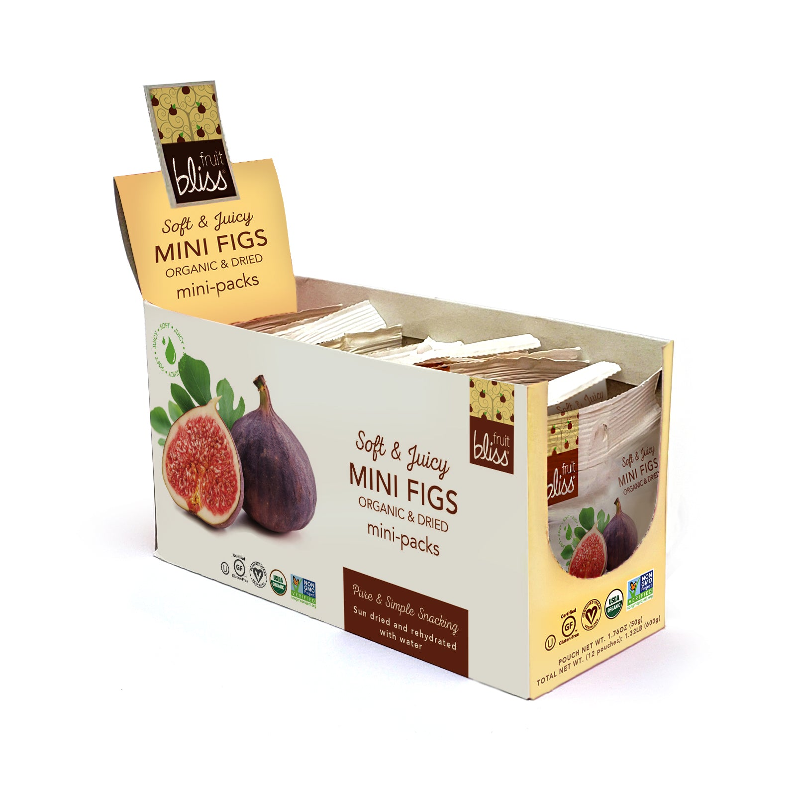 Organic Turkish Mini Figs | Fruit Bliss Snacks