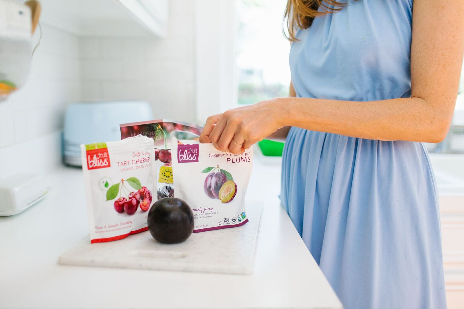 Fruit Bliss Organic Plum Snacks
