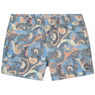 DSTREZZED Fish Print SWIMSHORTS