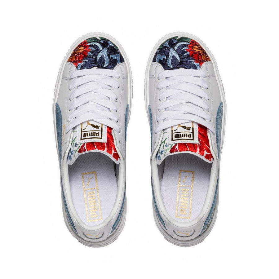 Puma Platform Hyper Embroidered Sneakers