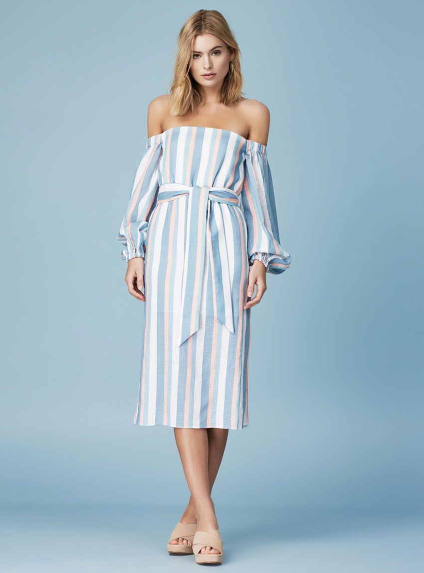 FINDERS KEEPERS INSTINCT LONG SLEEVE DRESS