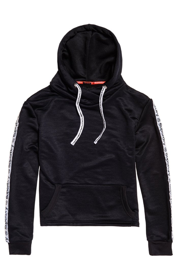 Superdry FASHION FITNESS CROP HOODie