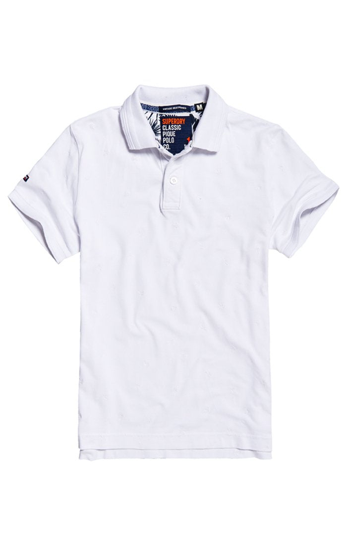 SUPERDRY VINTAGE DESTROYED BERMUDA POLO