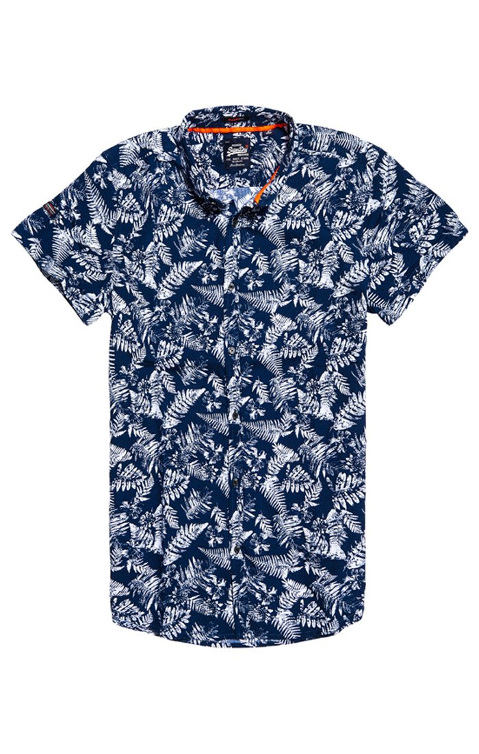 Superdry shoreditch short-sleeve button down shirt