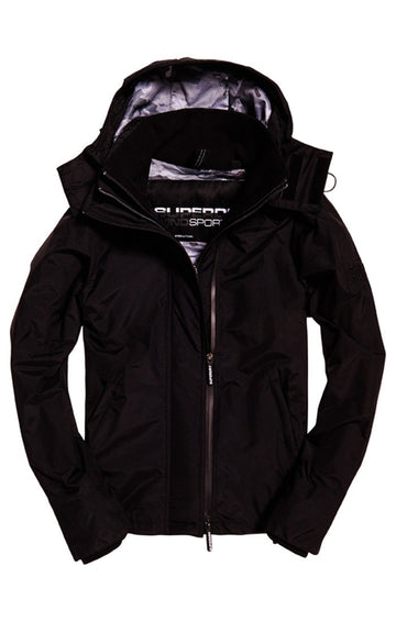 Superdry Hooded Print Pop Zip Windcheater Jacket