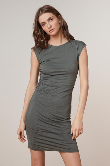 VELVET VITTORIA CREWNECK DRESS
