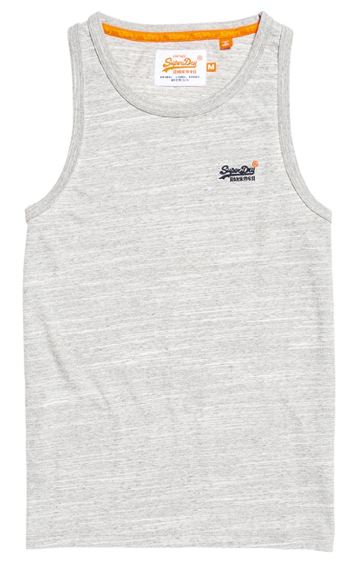 SUPERDRY Orange Label Vintage Embroidery Vest Tank