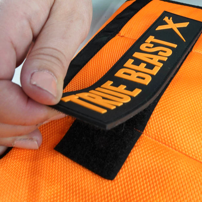 XDOG Weight Vest for Dogs (Version 2-Orange)