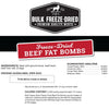 Freeze-Dried Beef Fat Bombs