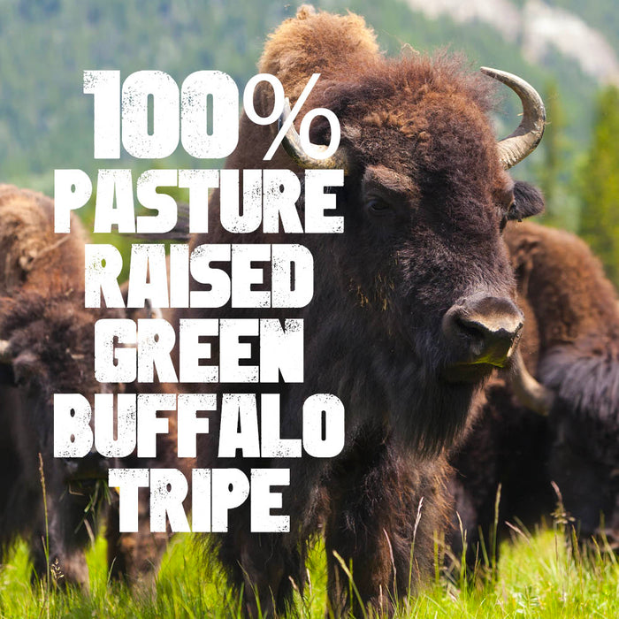 True Beast Freeze-Dried Green Buffalo Tripe