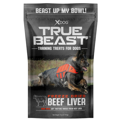 True Beast Freeze-Dried Beef Liver Bites