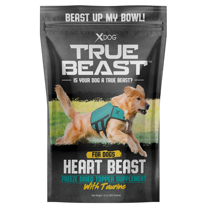 True Beast Heart Beast Freeze-Dried Topper w/ Taurine SPECIAL OFFER
