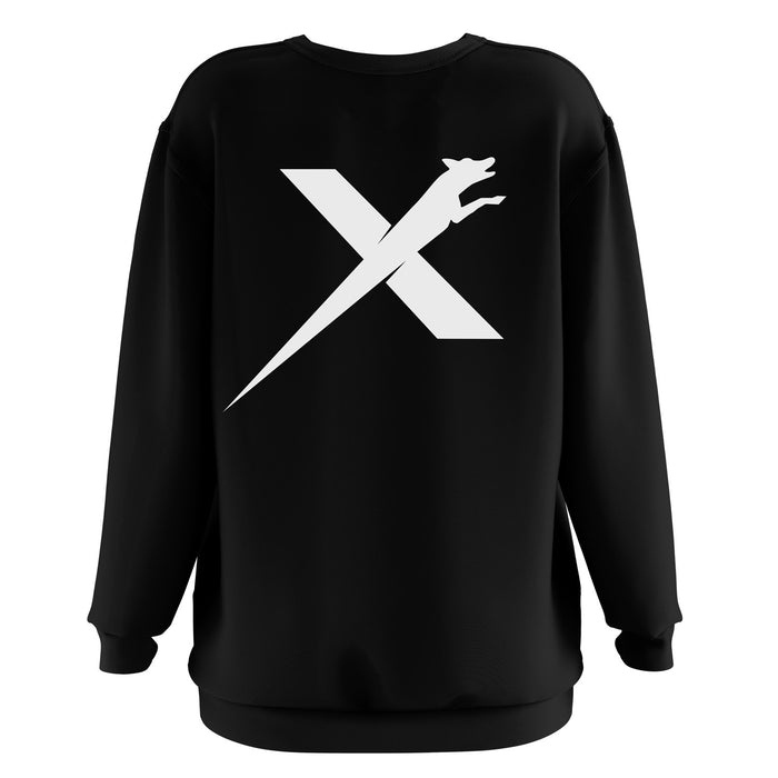 XDOG Sweatshirt (Unisex) Black with White Logo