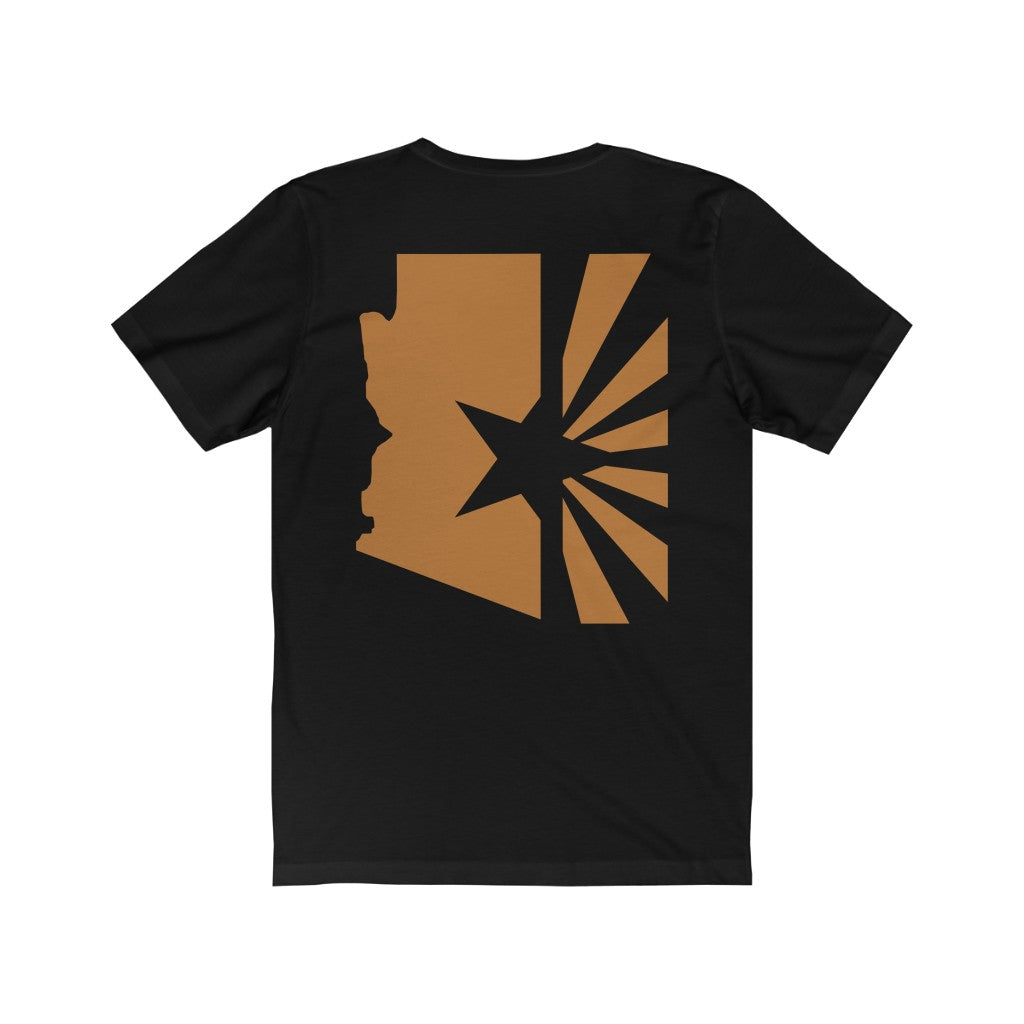 "Men's State Series ""Copper Flag"" Tee (Back)"