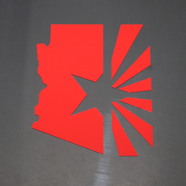 Arizona State Flag Vinyl Decal