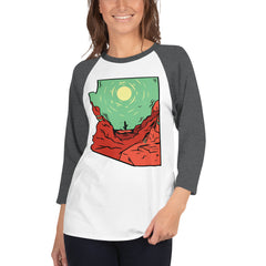 "Women's State Series ""Lone Cacti"" 3/4 Sleeve"