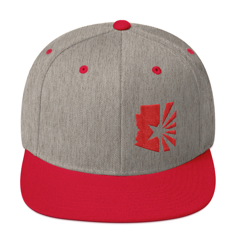 "State Series ""Red Flag"" Snapback Hat"