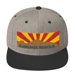 "Mountain Series ""Camelback Mountain"" Snapback Hat"