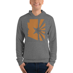 "Men's State Series ""Copper Flag"" Pullover hoodie (Unisex)"