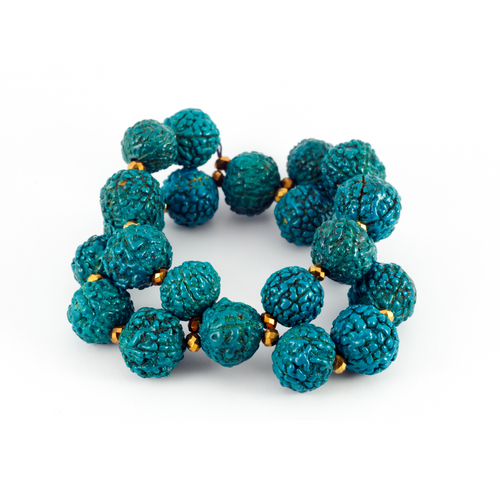 Blue Bead Bracelet *Limited Stock (FOMO Notification)