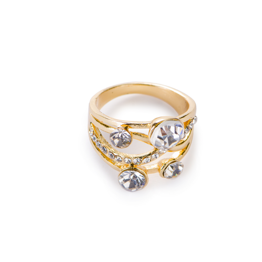 Quarovski Single Ring